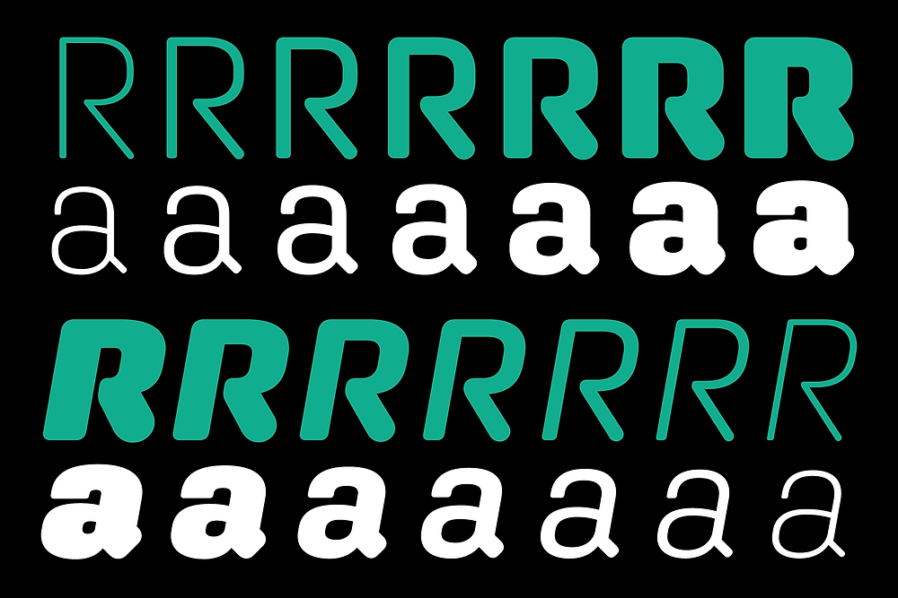 Aglet Sans is a new typeface from Jesse Ragan.