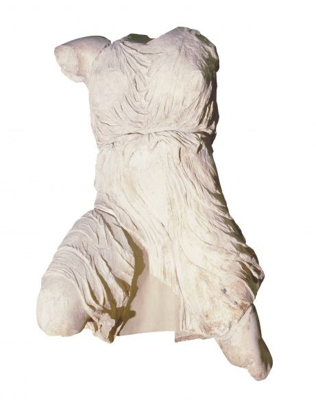 Iris, Goddess of the Rainbow, from the west pediment of the Parthenon, Athens, c.438–32 bc, marble, 135 cm (53¼ in), British Museum, London. Picture credit: akg-images / © Heritage Image Partnership Ltd (page 202)