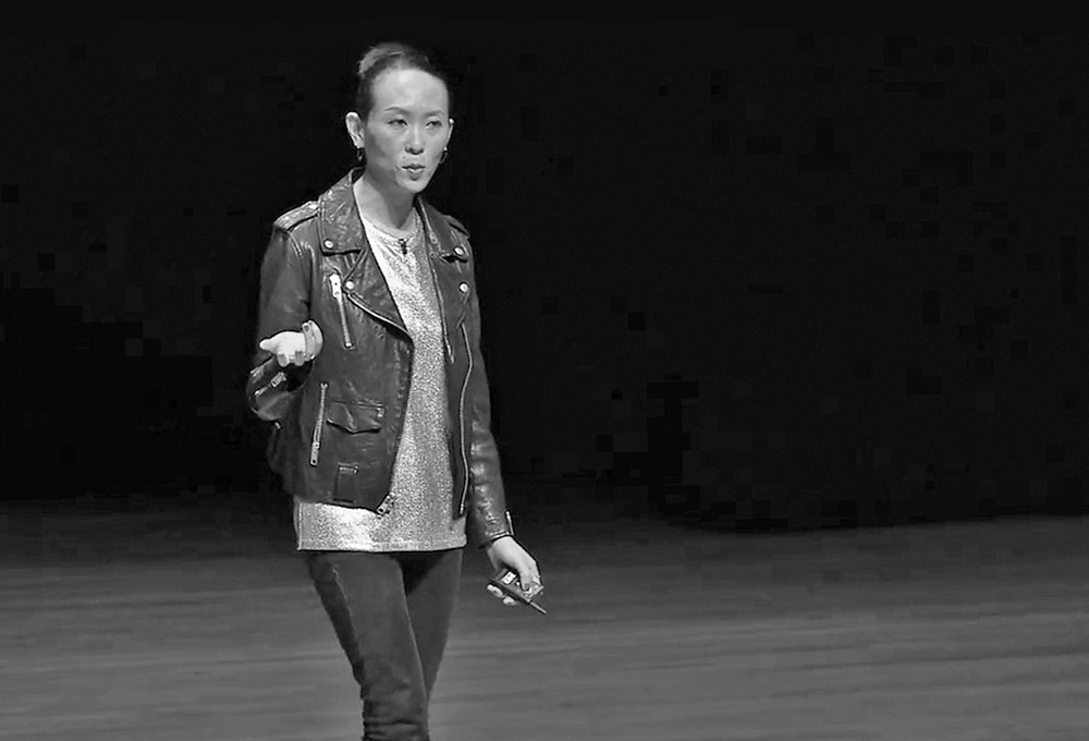 Natasha Jen gave a main-stage presentation