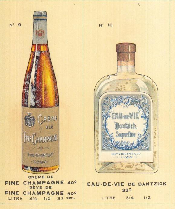 Bottle design Champagne