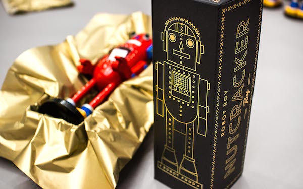 Creative Packaging: Robot Roy