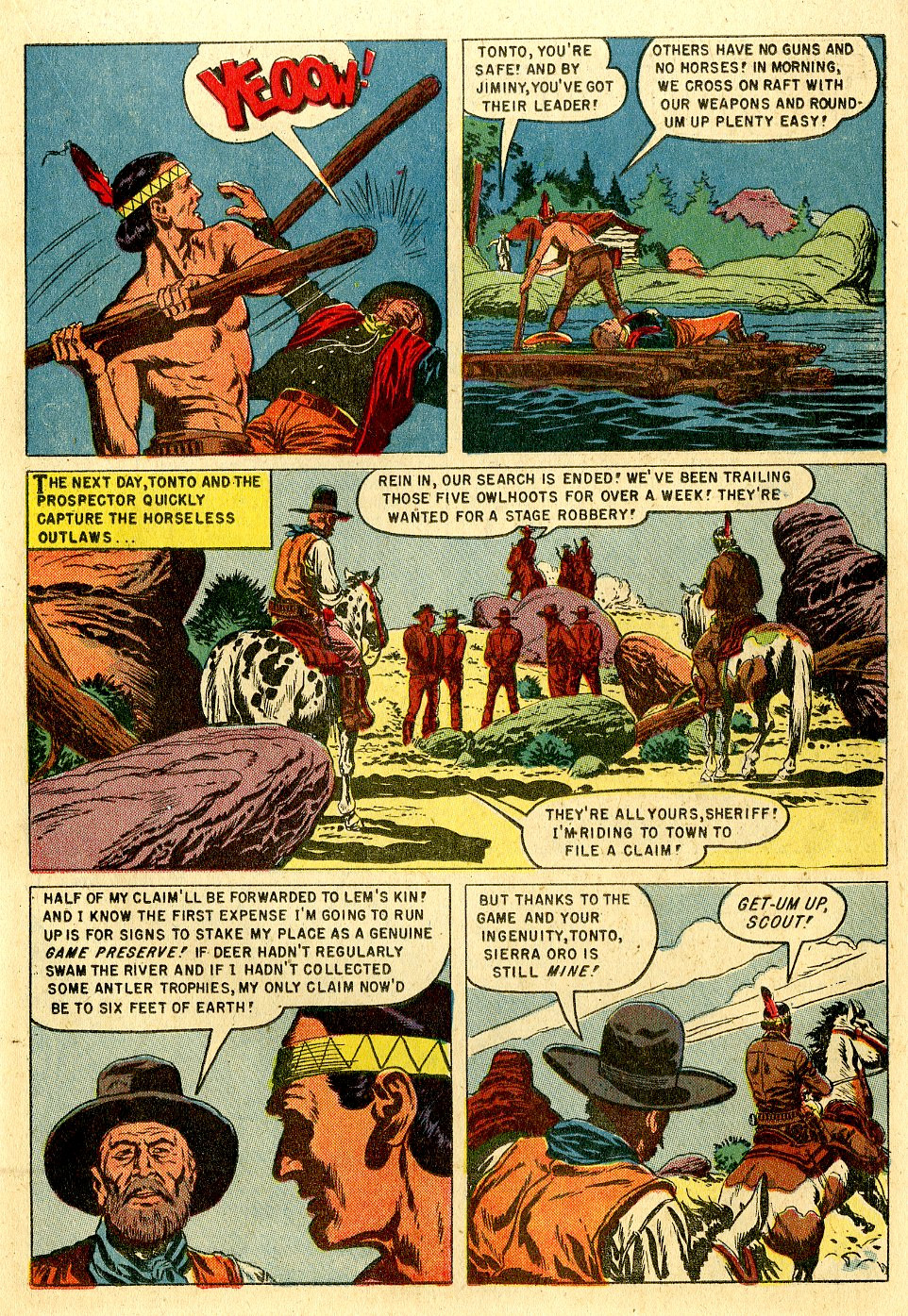"""Tonto: The Lone Ranger's Companion"""