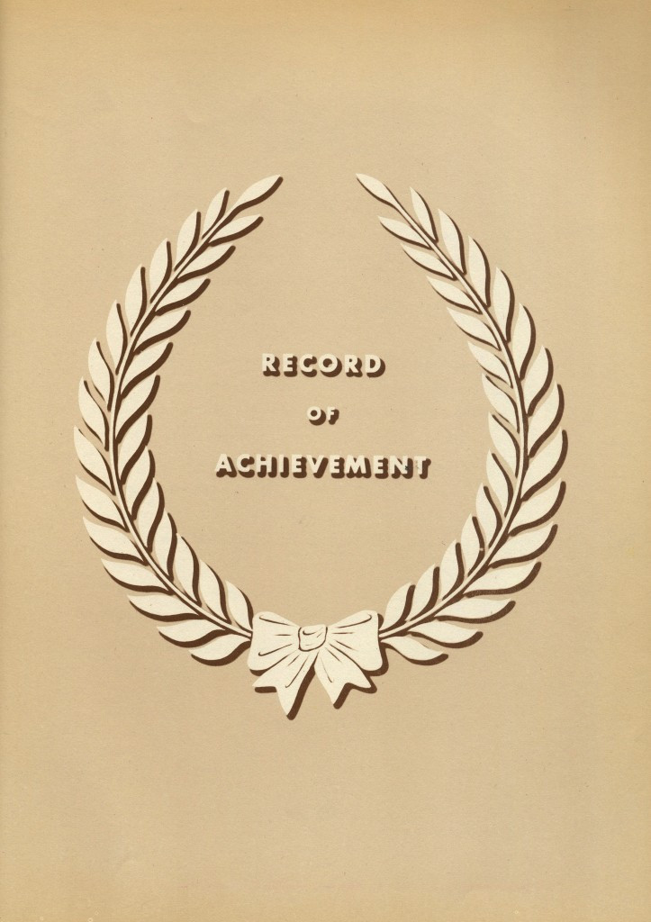 Record of achievment