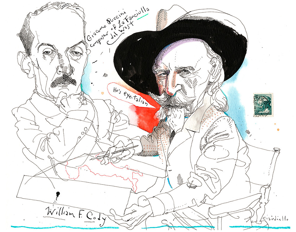 "Joe Ciardiello's ""A Fistful of Drawings"" features his take on the Old West."