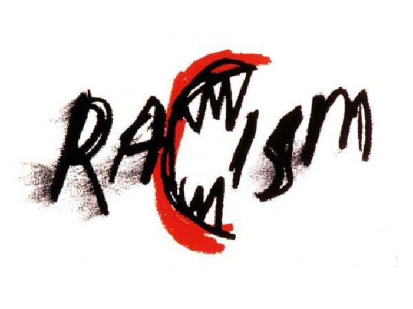 James Victore's Racism poster