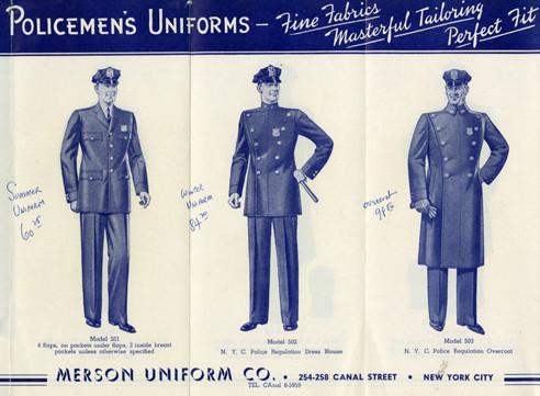 Policemen's Uniforms