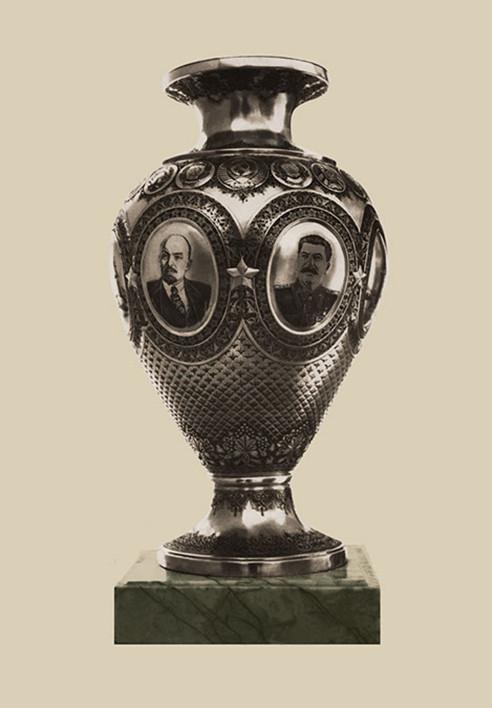 retouched vase