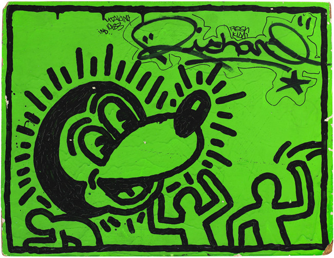 010 Untitled by Keith Haring, 1982, Keith Haring Foundation.jpg