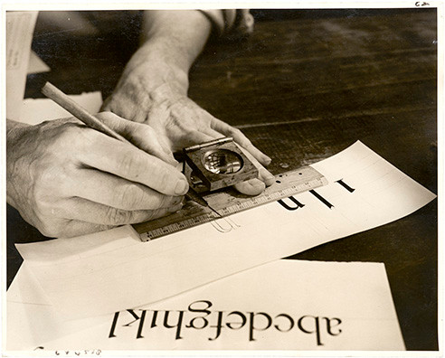 04. Dwiggins drawing letters LfA