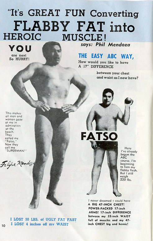 It's great fun converting Flabby fat into heroic muscle!