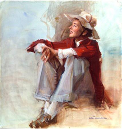 Everett Raymond Kinstler was a prolific comic artist and portrait artist.