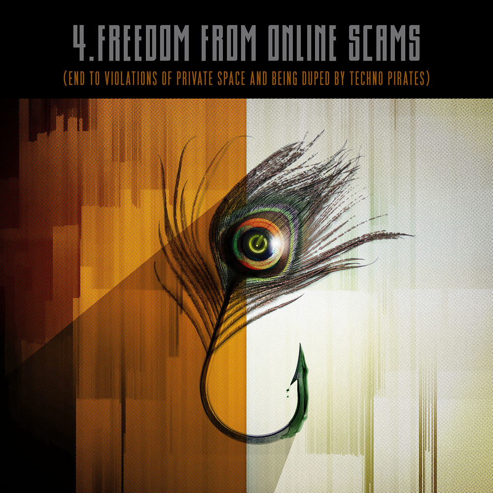 4. Freedom from online scams