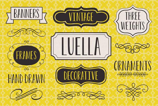 Luella Poster type designers