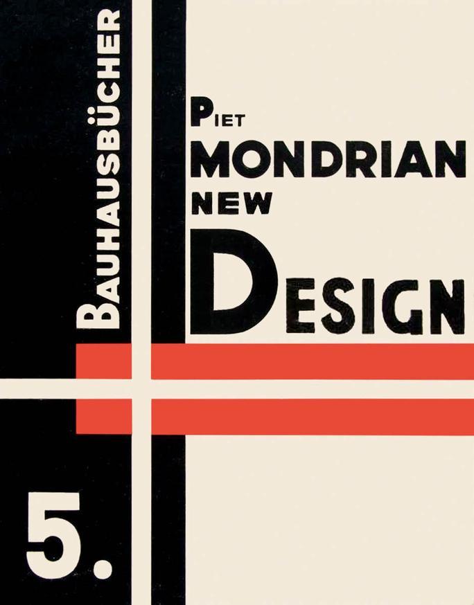 Bauhaus piet mondrian new design