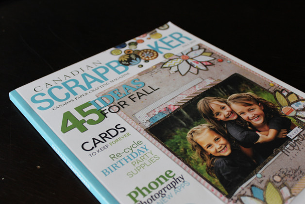 CanadianScrapbooker-cover-publication-design