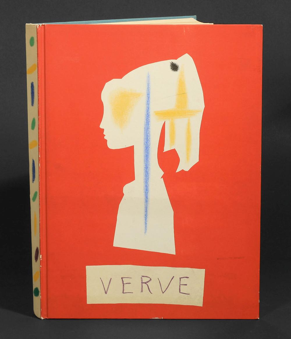 Verve magazine cover, 1954