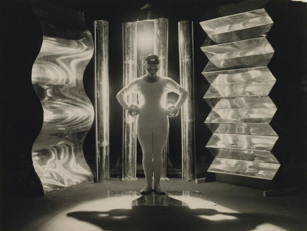 T. Lux Feininger: Metalltanz, about 1928 - 1929. Gelatin silver print, 4 1/4 x 5 5/8 in. © estate of T. Lux Feininger. Credit: The J. Paul Getty Museum, Los Angeles.