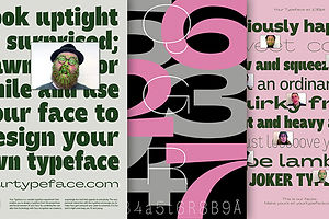 Design Quarantine To-Do: Make Your Face Into a Typeface