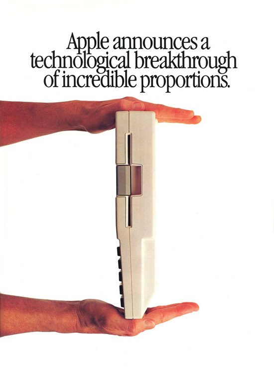 1984 Apple IIc Introduction Ad.