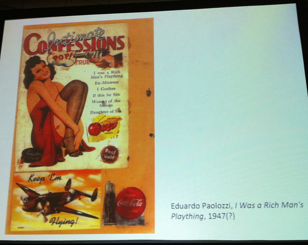 Eduardo Paolozzi, I was Rich Man's Plaything, 1947(?)