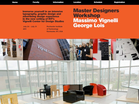 The Lois and Vignelli Tag Team
