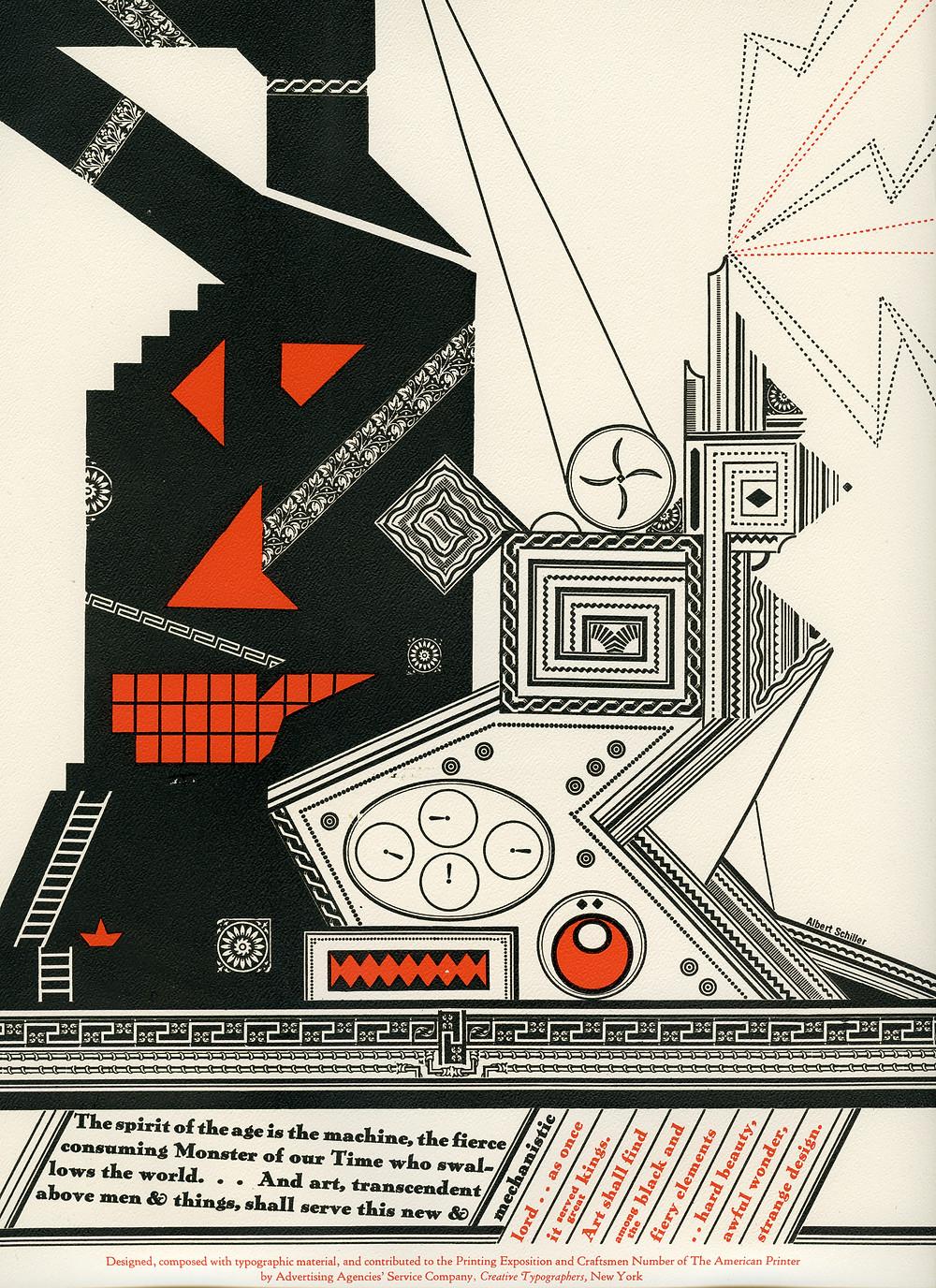 Albert Schiller, Type Picture