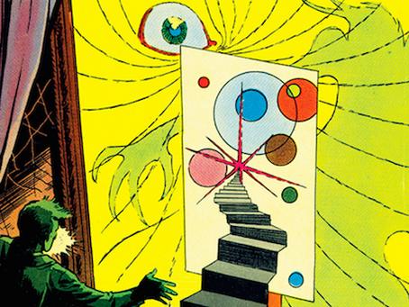 Steve Ditko's Midcentury Comics Art: Stranger Than Doctor Strange