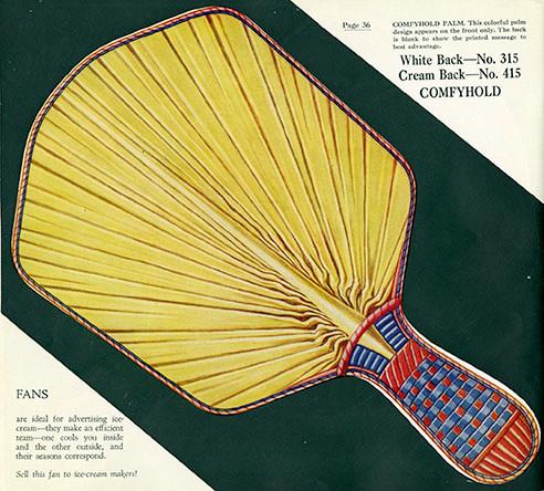 cardboard fan