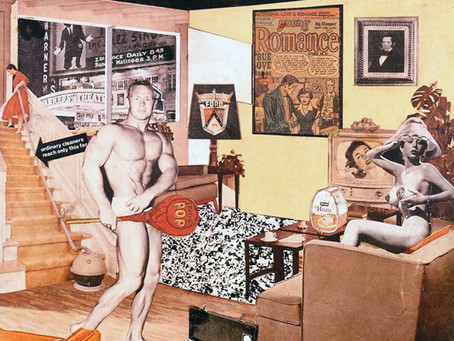 Jack Kirby's Collages in Context