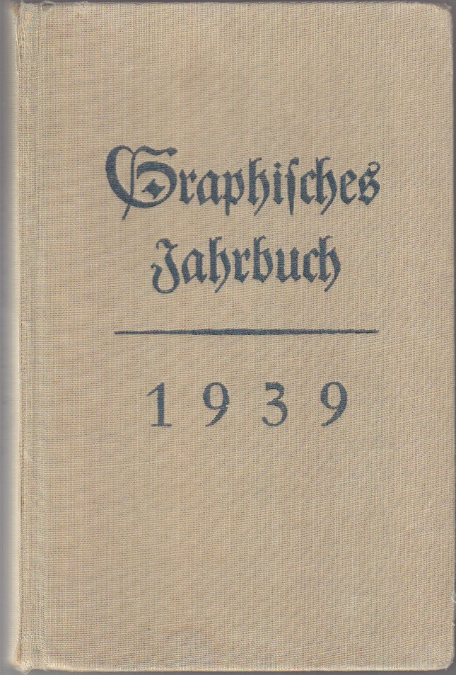 1939 Graphics Yearbook