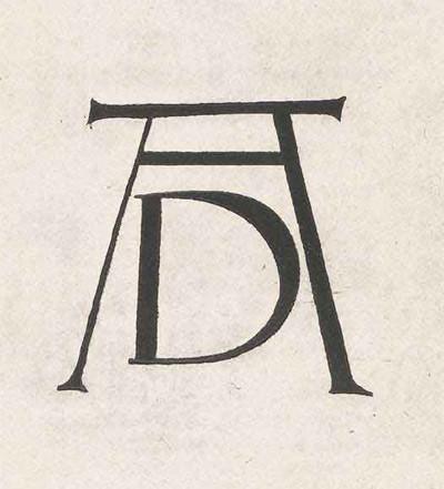 Dürer's monogram