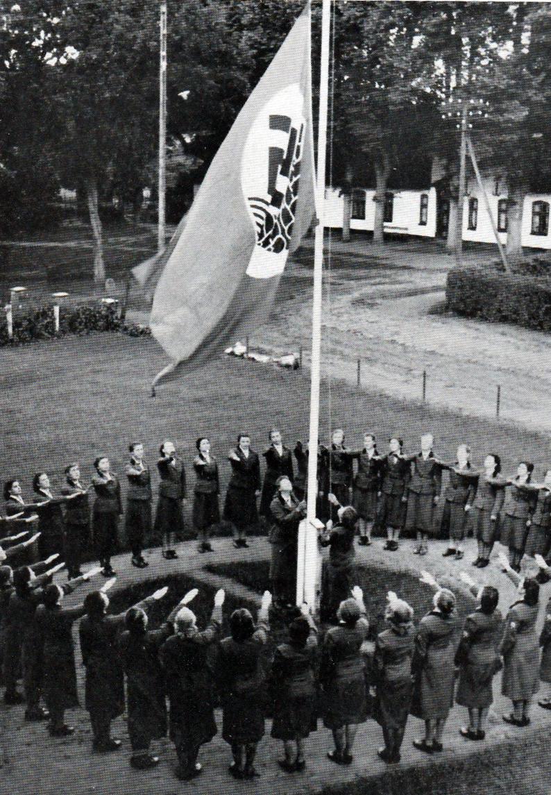 The Bund Deutscher Mädel was the female faction of the Hitler Youth.