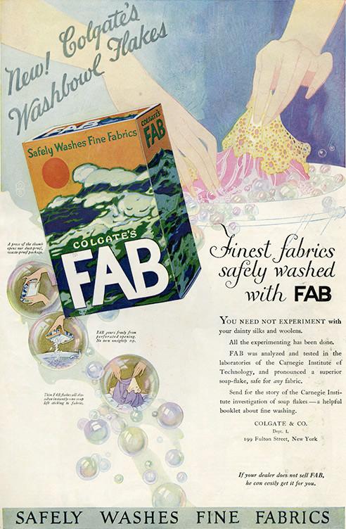 aColgates FAB ad