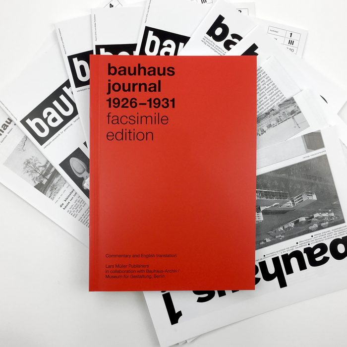 The Bauhaus Journal: Facsimile Edition