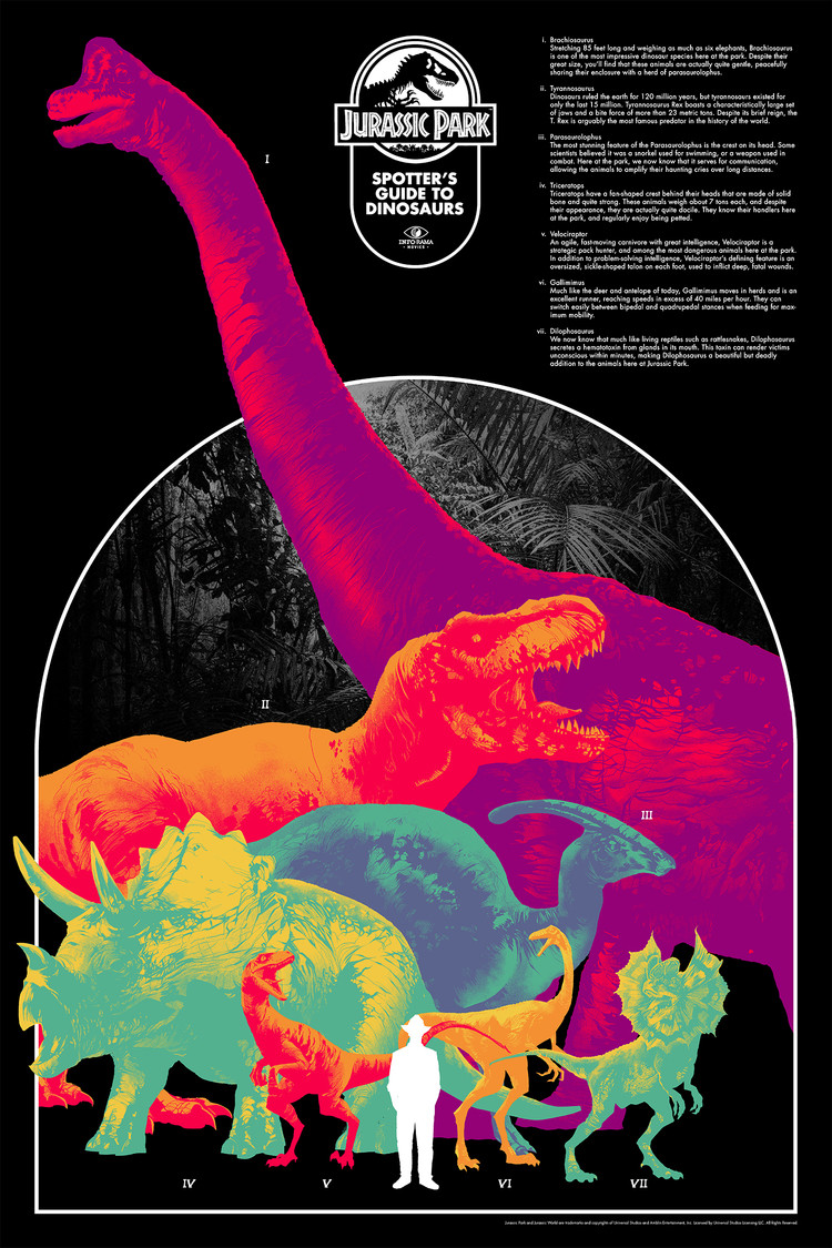 'Jurassic Park' by Matt Taylor for Info•Rama