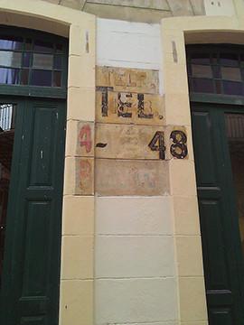 Havana's typographic treasures