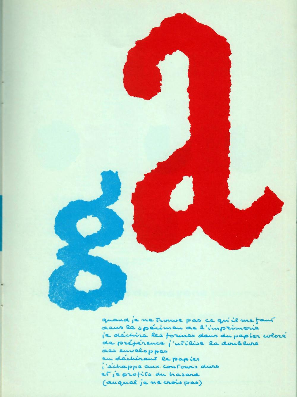 Experimenta Typografica 11, 1956.