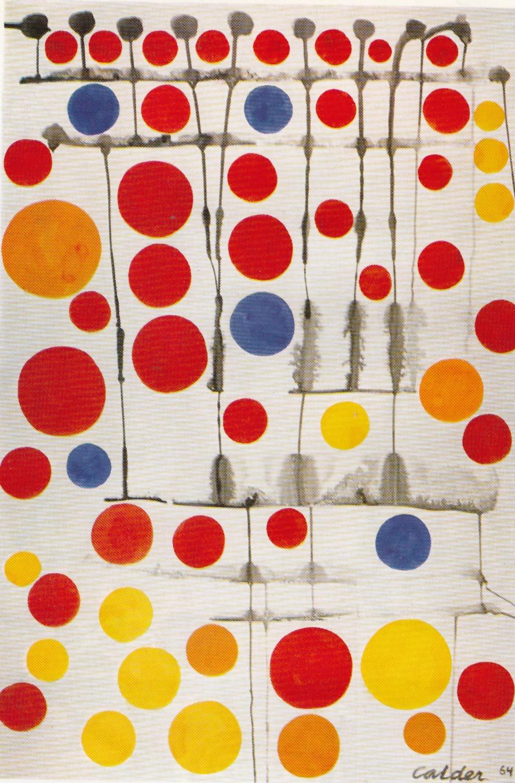 In the 1960s, the Guggenheim released Alexander Calder: A Retrospective Exhibition.