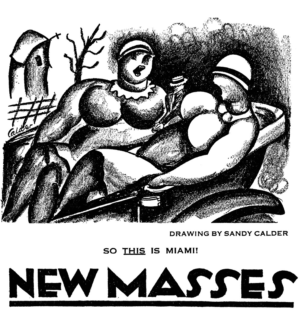 Alexander (Sandy) Calder, 1926