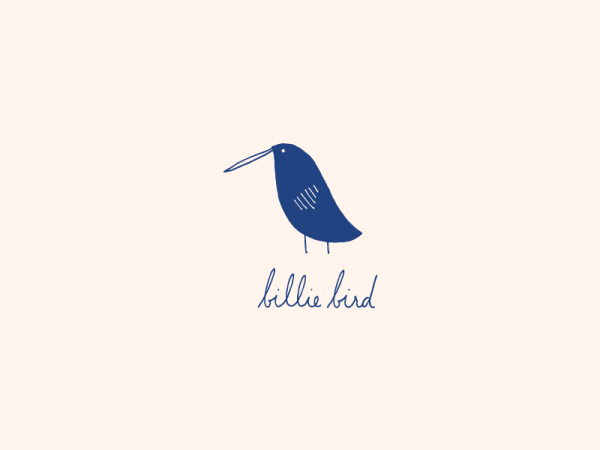 Branding for Billie Bird Market by graphic design and illustrator Sarah Nicely