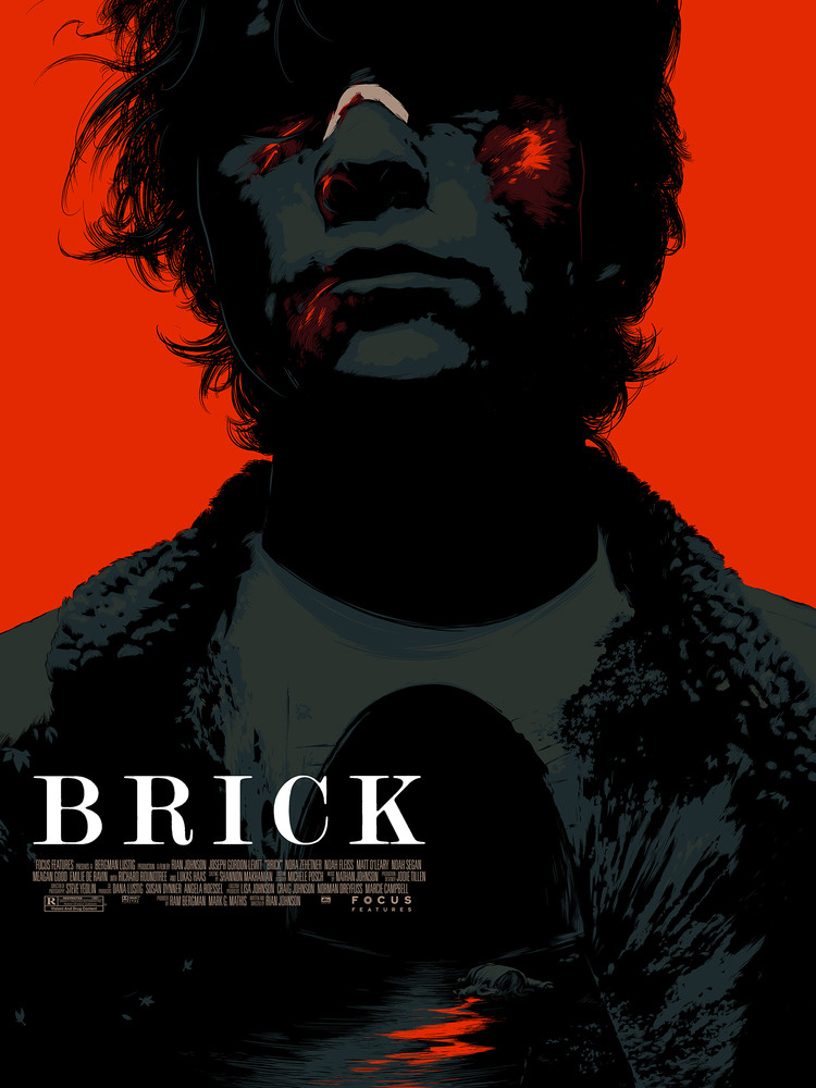 'Brick' by Matt Taylor for Mondo