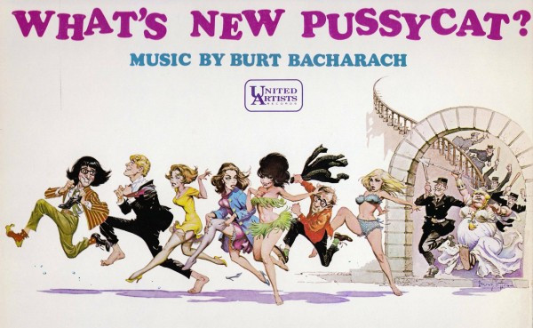 "Alternate art for ""What's New Pussycat?"""