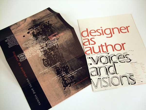 designer as author McCarthy