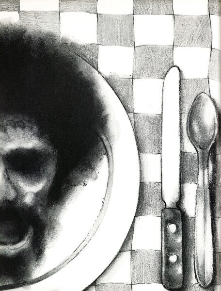 "black and white David Palladini ""Soul Food"""