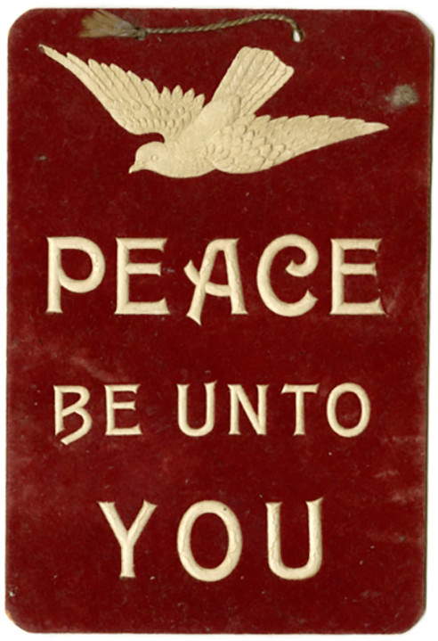 peace be unto you