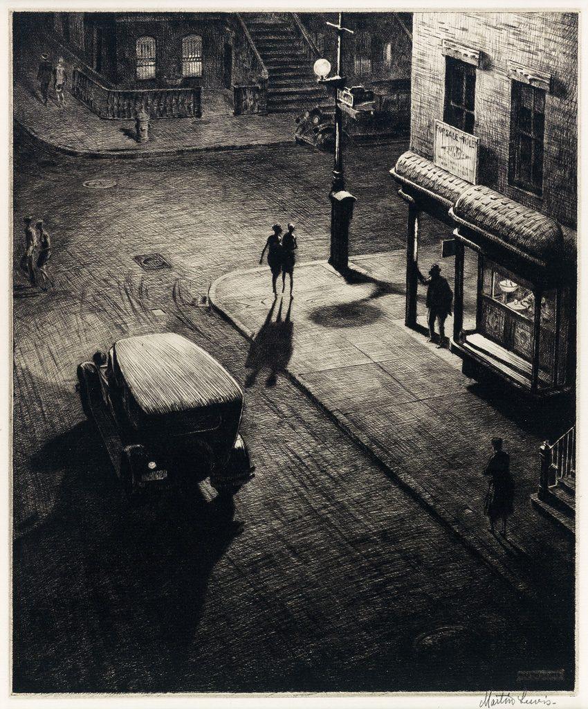 Martin Lewis black and white