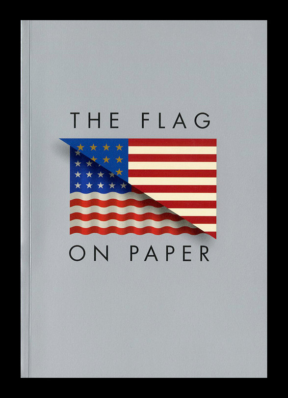 the flag on paper