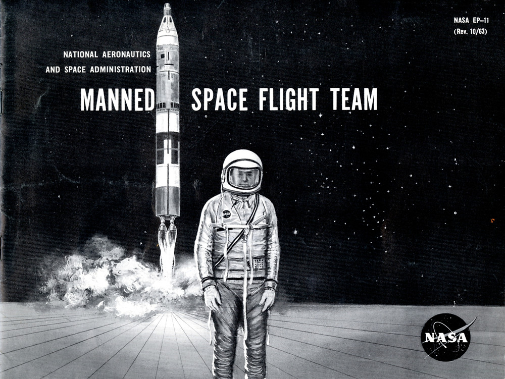 Manned space flight team