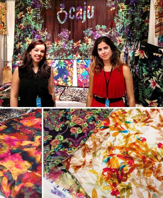 Caju Collective, a print studio exhibiting at Indigo, July 2013