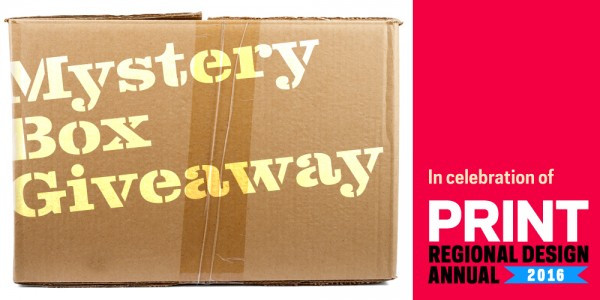 Regional Design Annual mystery box design giveaway